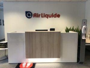 logo recepcja air liquide warszawa