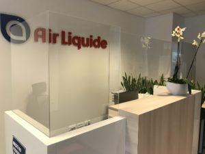 osłona plexi air liquide warszawa