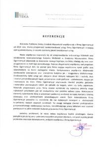 List referencyjny od Biblioteka Publiczna Gminy Grodzisk Mazowiecki