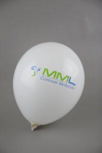 balon z logo centrum medyczne mml warszawa