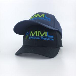 czapka z logo mml sport warszawa