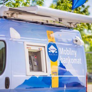 oklejenie mobilny bankomat euronet warszawa