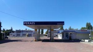 znakowanie stacji benzynowej pekaes błonie