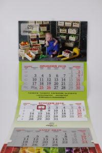 kalendarz ścienny mega fruit błonie