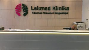 logo przestrzenne lekmed warszawa